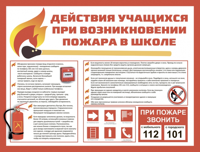 Пожарная безопасность в школе (ДБ_3)